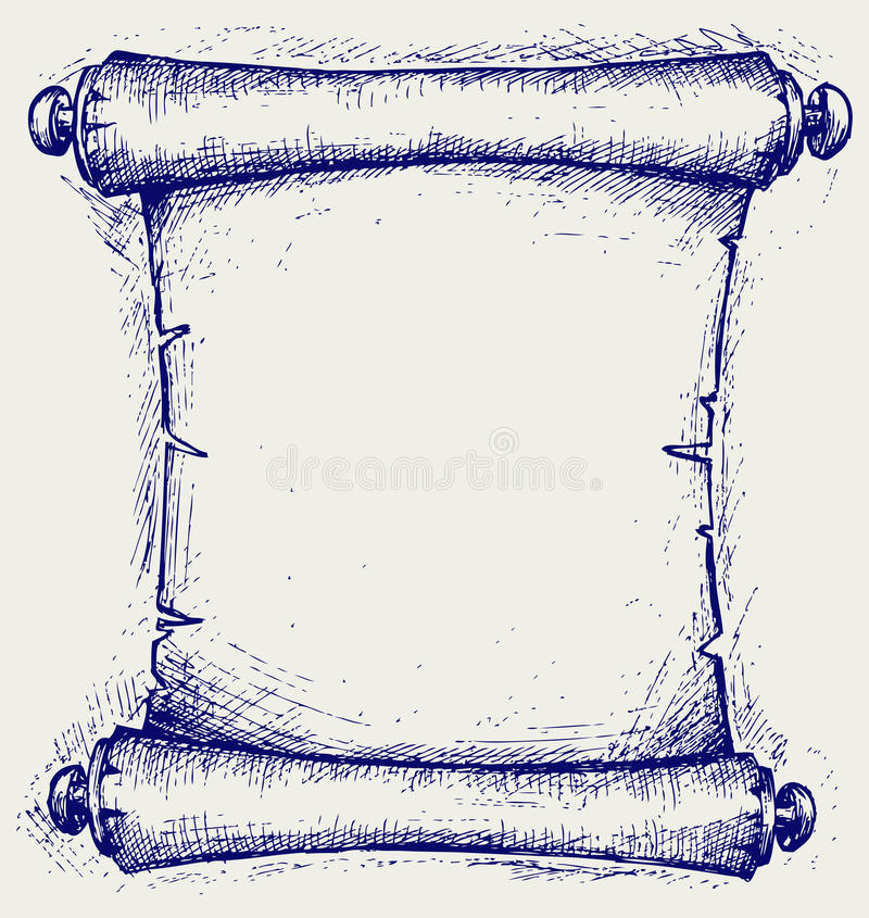 Stara ślimacznica royalty ilustracja