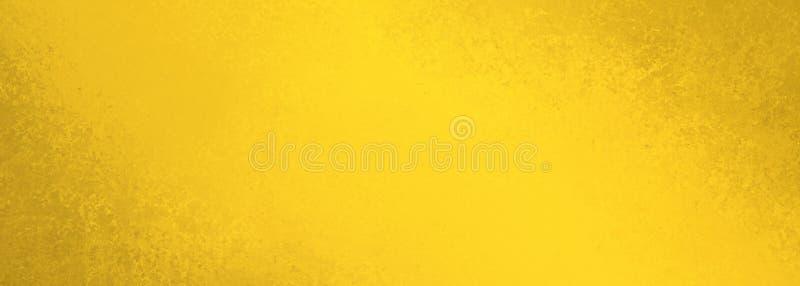 Stara żółta tło tekstura i zakłopotany brąz granicy grunge w roczniku tapetujemy ilustrację royalty ilustracja