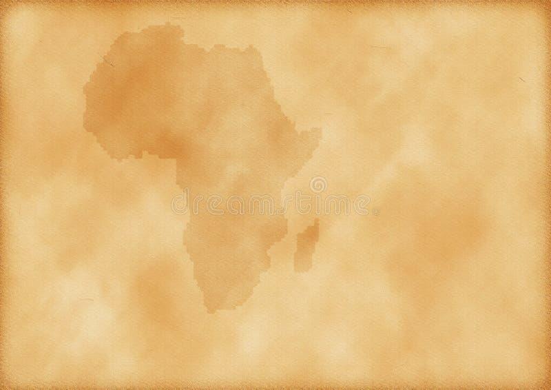 stara Africa mapa