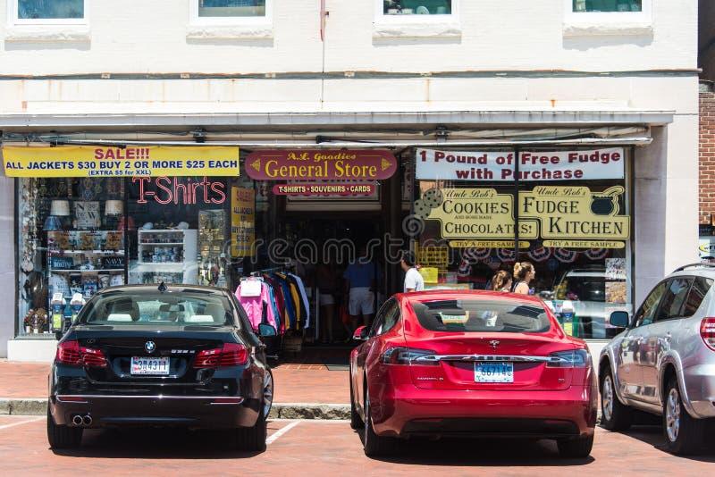 Stara Annapolis ulica 7 obrazy royalty free