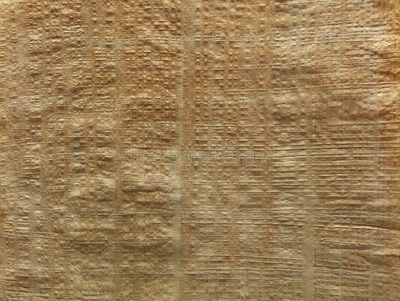 Stara antykwarska brown papirusowa tło tekstura zdjęcie stock