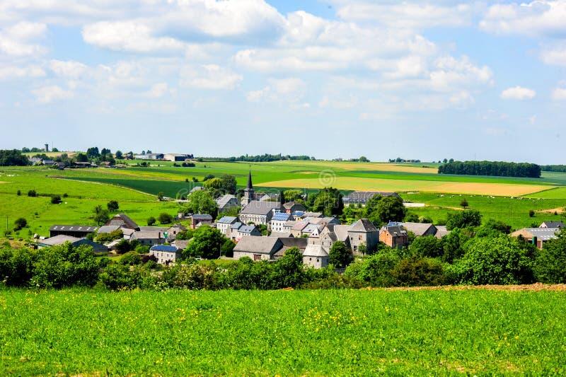 Stara Ardennes wioska obrazy royalty free