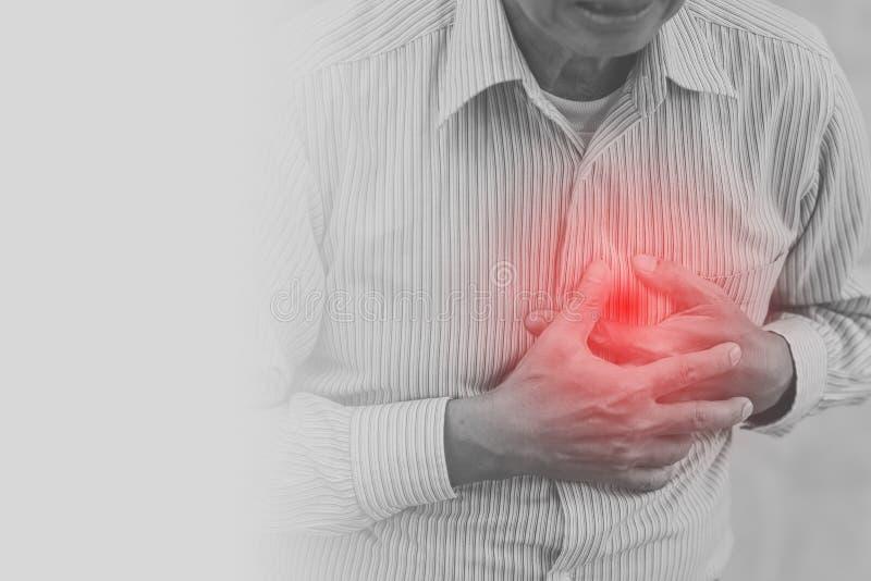Stara atak serca klatki piersiowej farba dla tła zdjęcia stock