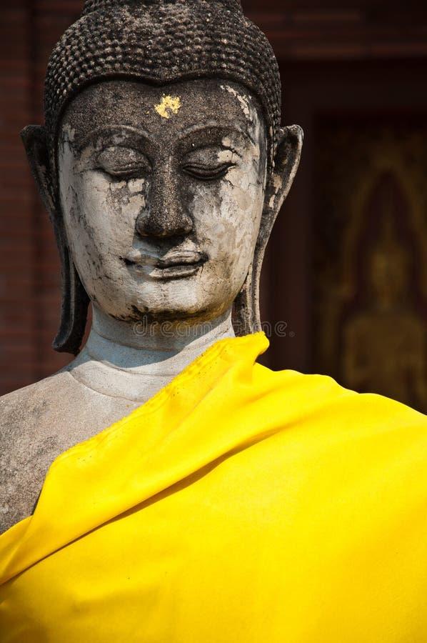 stara ayutthata świątynia Thailand obraz stock