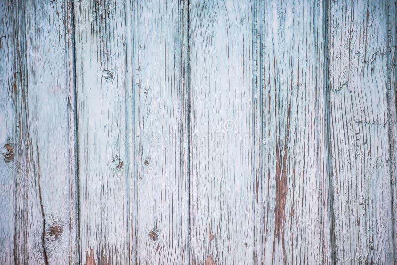 Stara błękit deski tekstura obrazy royalty free