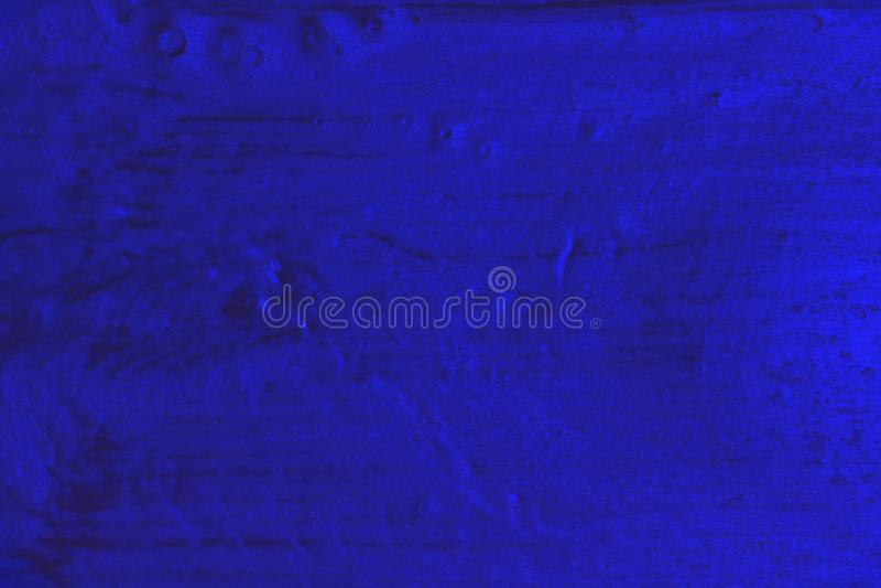 Stara błękitna upaćkana kruszcowa obraz tekstura - fantastyczny abstrakcjonistyczny fotografii tło obraz stock