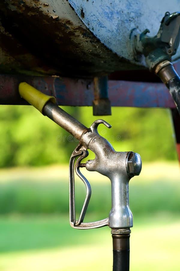 Stara Benzynowa pompa zdjęcie royalty free