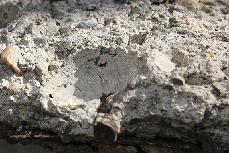 Stara betonowa płyta obrazy stock