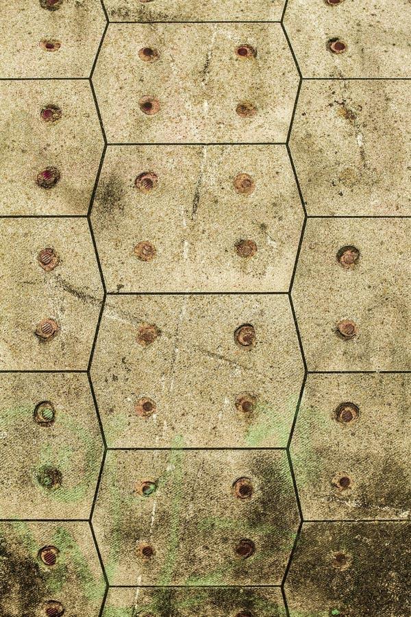 Stara betonowej ściany tekstura, pęka narysy szczerbiących się zdjęcie stock