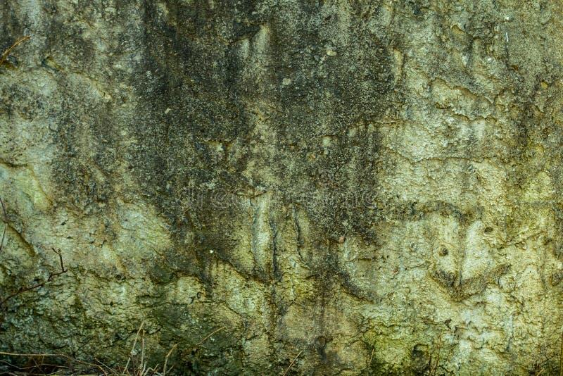 Stara betonowej ściany tekstura, pęka narysy szczerbiących się obrazy stock