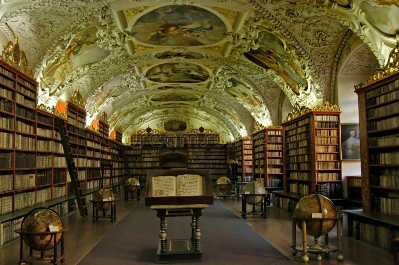 stara biblioteka obraz stock