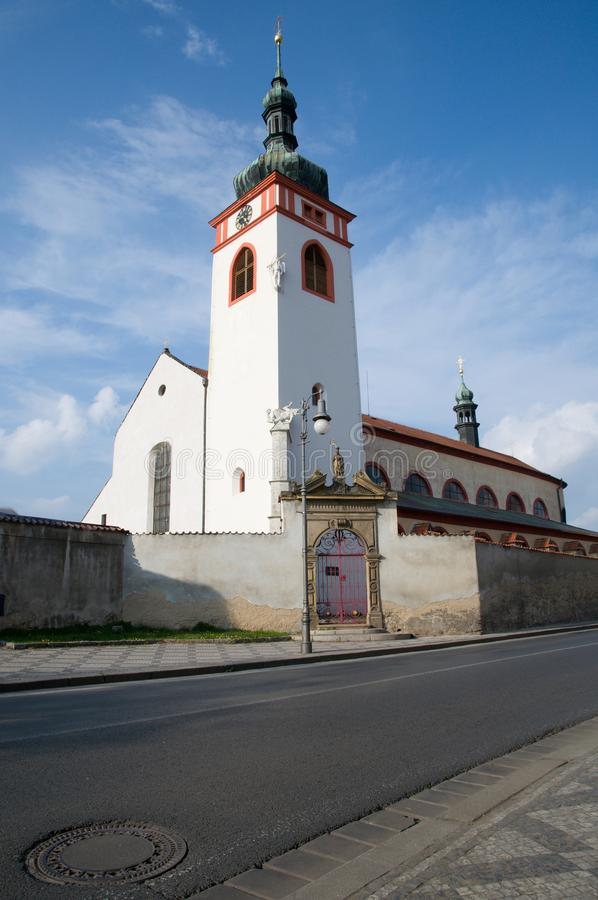 Stara Boleslav, Czech republic. St. Clement's Church in Stara Boleslav, Central Bohemia,Czech republic royalty free stock image
