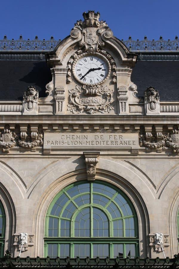 Stara Brotteaux stacja w Lion zdjęcia royalty free