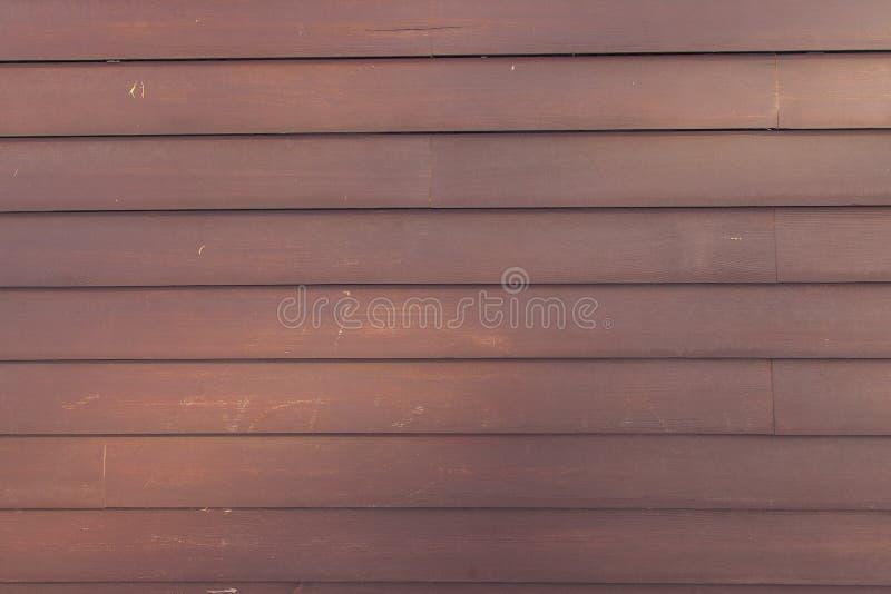 Stara brown drewniana ściana obraz royalty free