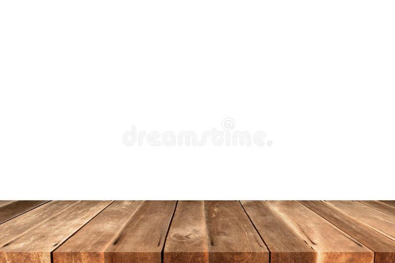 Stara brown drewniana panel ściana z teksturami zdjęcie stock