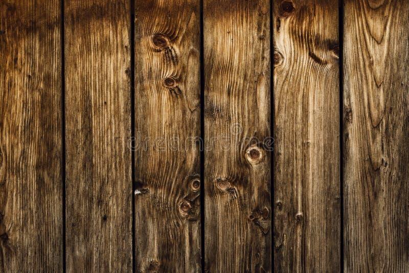 Stara brown drewno desek ściana fotografia royalty free