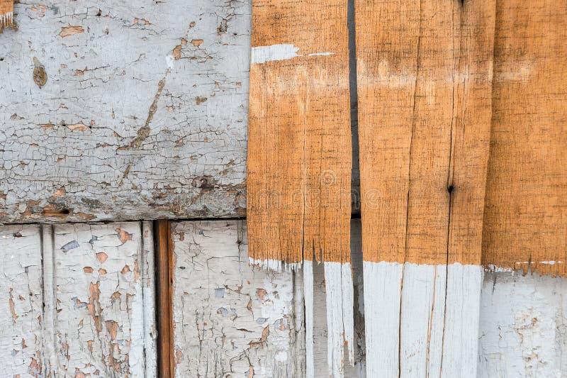 Stara brudna drewniana ściana zdjęcia stock