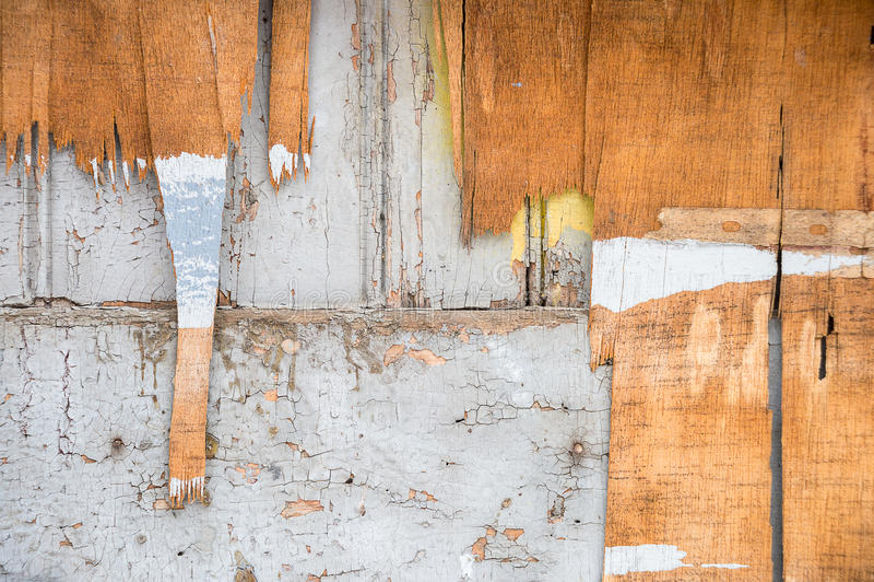 Stara brudna drewniana ściana obrazy royalty free