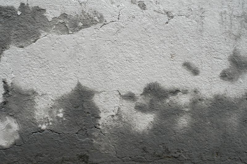 Stara brudna grunge cementu betonowej ściany tekstura z foremką zdjęcie royalty free