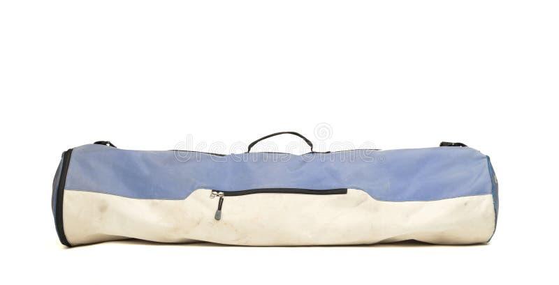 Stara brudna siatkówki torba obraz stock
