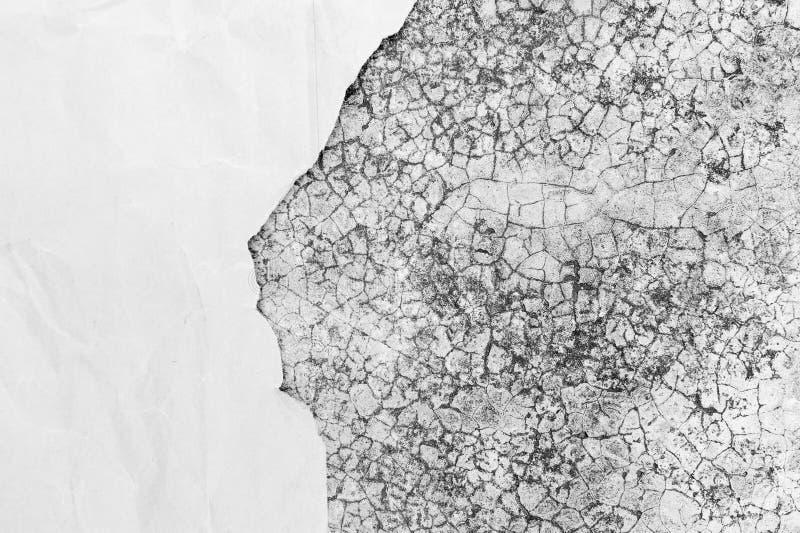 Stara brudna tekstura z przestrzenią papier dla teksta fotografia royalty free