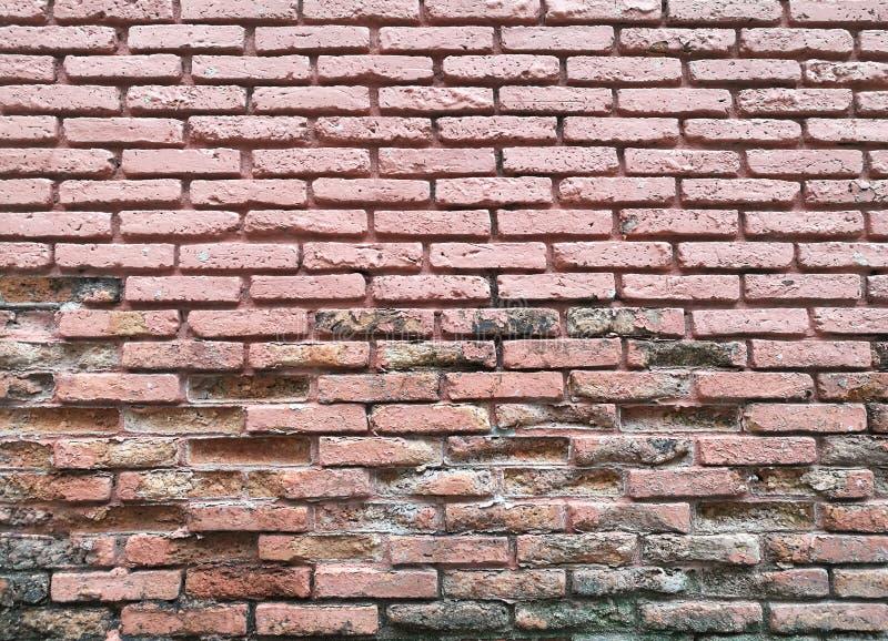 stara ceglana ściana Grunge tło fotografia stock