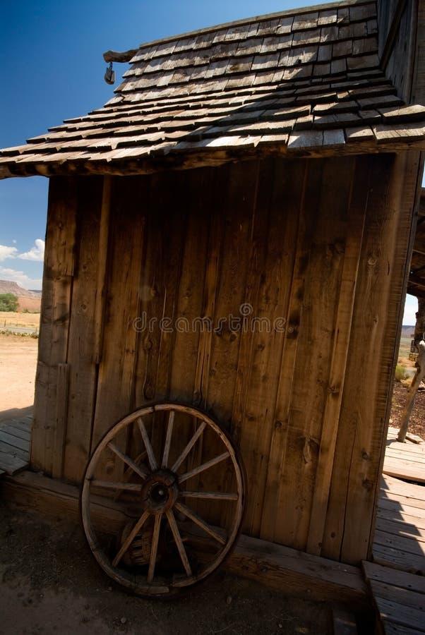 stara chata nieociosana obrazy stock