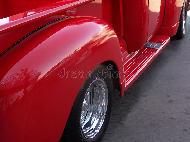 stara ciężarówka. obraz stock