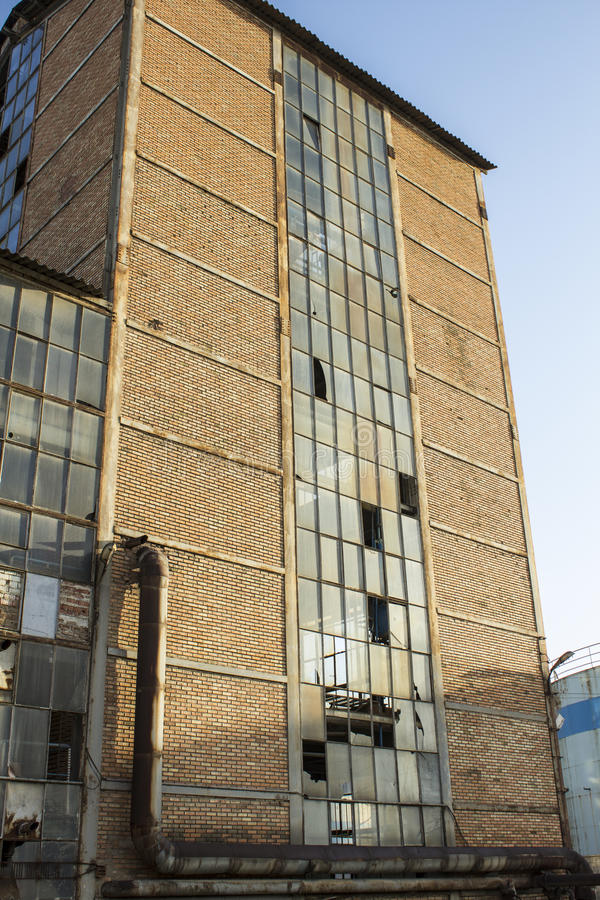 Stara cukrowa fabryka zdjęcie stock
