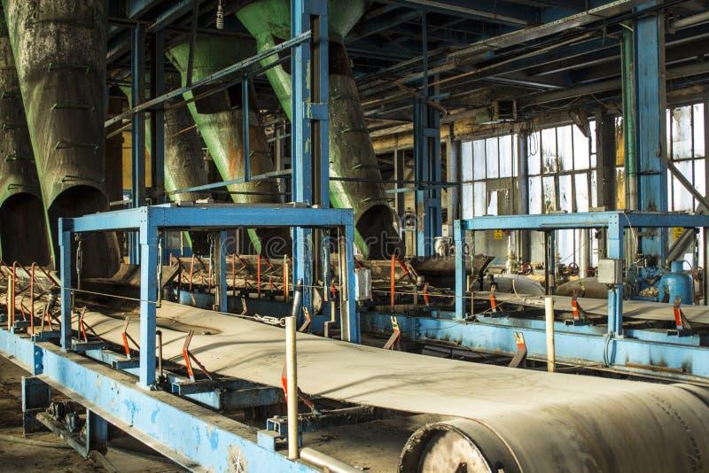 Stara cukrowa fabryka obraz stock