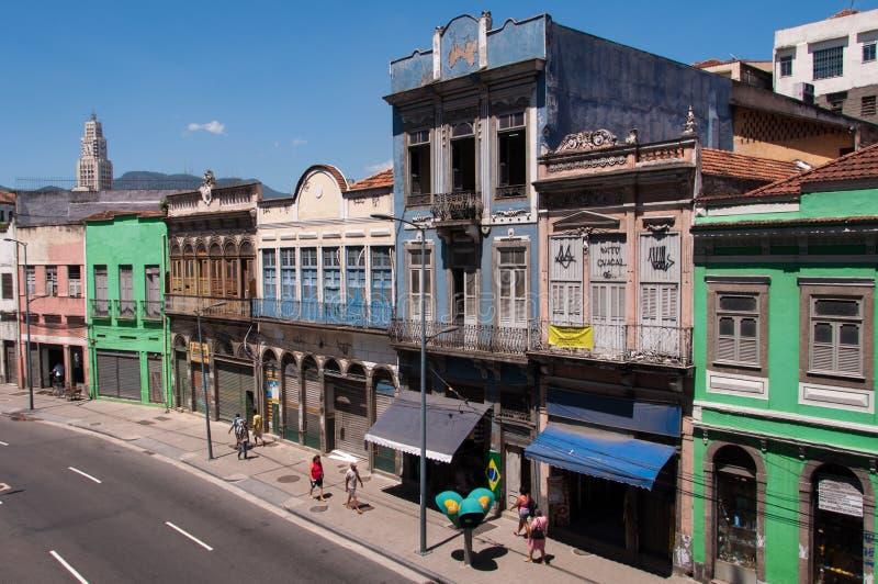 Stara część Rio De Janeiro obrazy stock