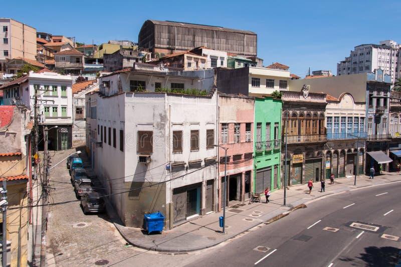 Stara część Rio De Janeiro obrazy royalty free