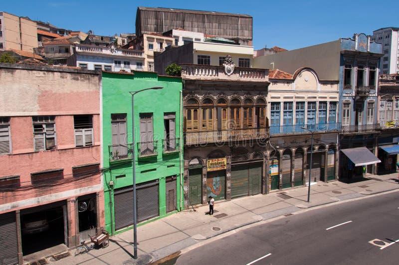 Stara część Rio De Janeiro obraz royalty free