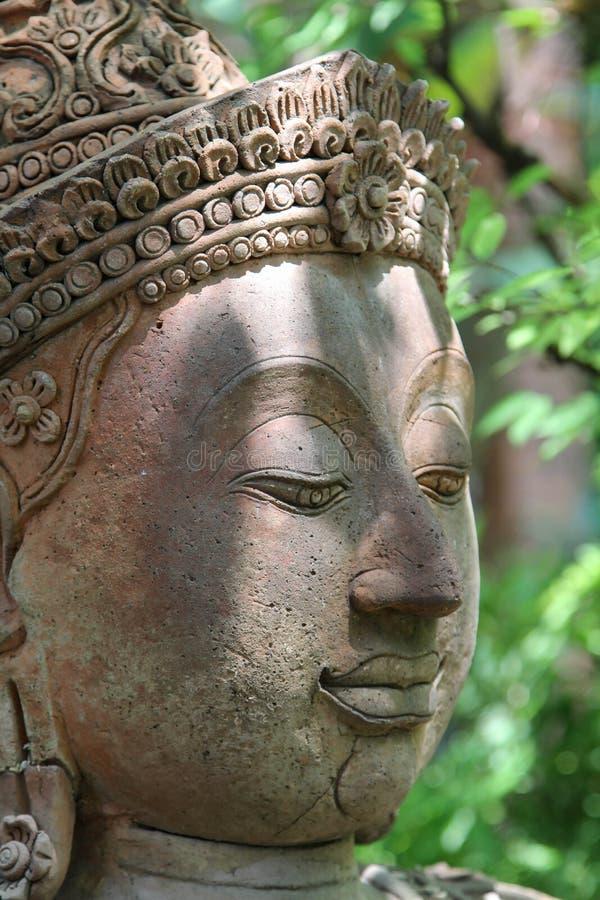 Stara deva statua fotografia royalty free
