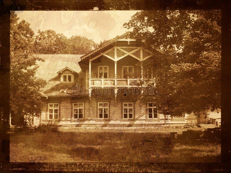 stara domowa rezydencja ziemska obrazy stock