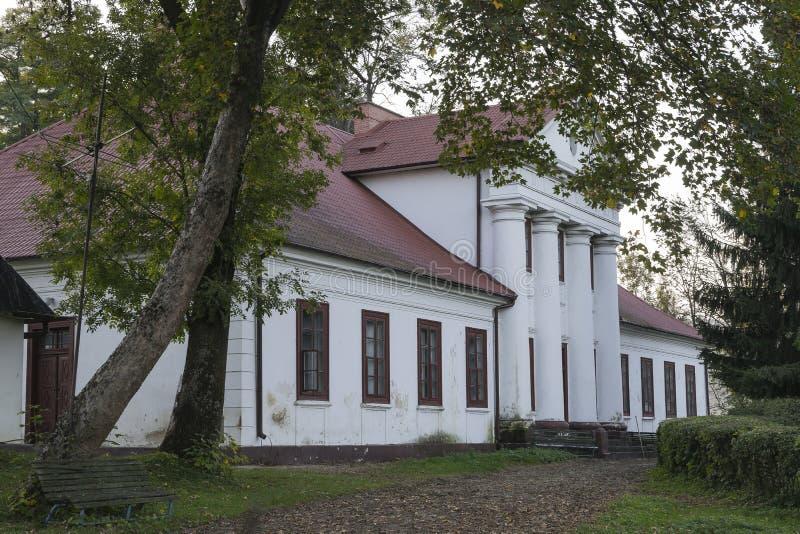 stara domowa rezydencja ziemska zdjęcia stock