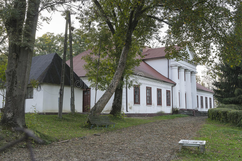 stara domowa rezydencja ziemska zdjęcie stock