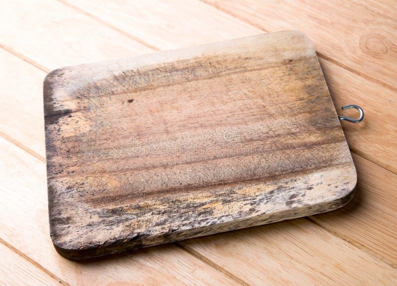 Stara drewniana ciapanie deska. obrazy royalty free