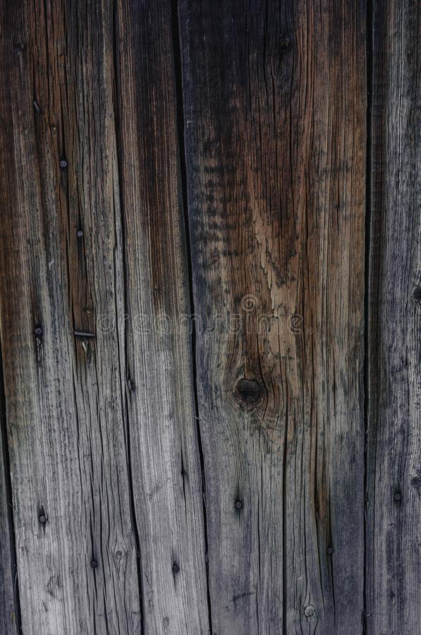 Stara drewniana ?cienna tekstura z naturalnymi wzorami zdjęcia royalty free