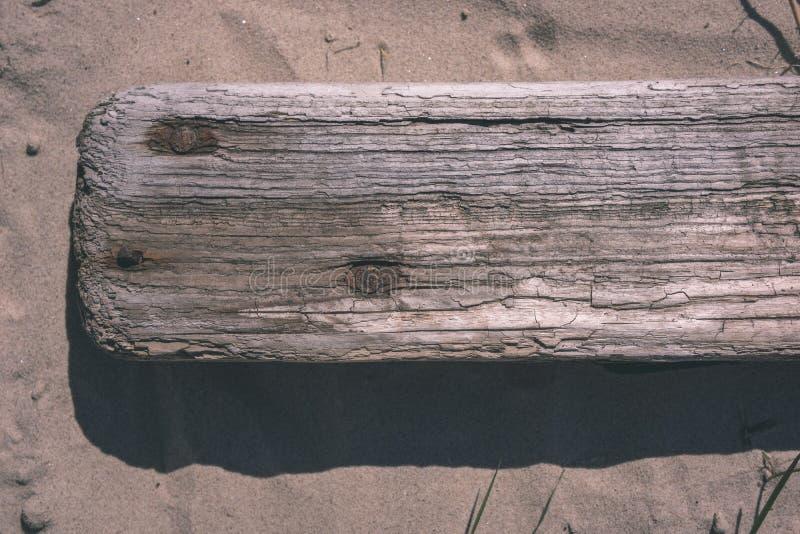 stara drewniana deski tekstura w bezpośrednim świetle słonecznym - rocznika retro spojrzenie zdjęcie royalty free