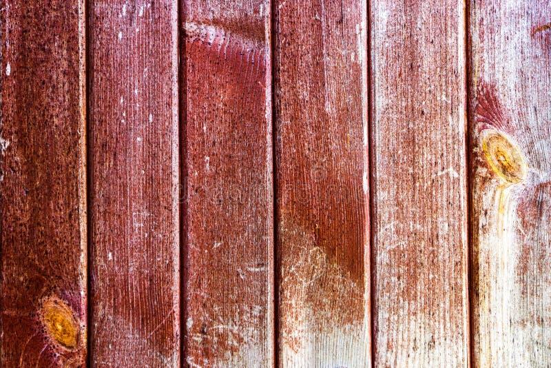 Stara drewniana powierzchnia ciemnego brązu deski obraz royalty free