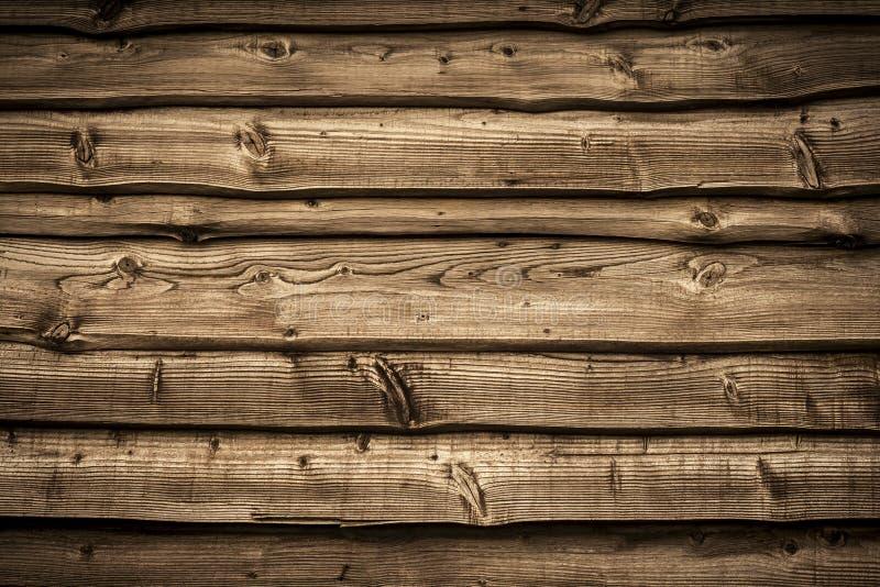 Stara drewniana stajni ściana fotografia royalty free