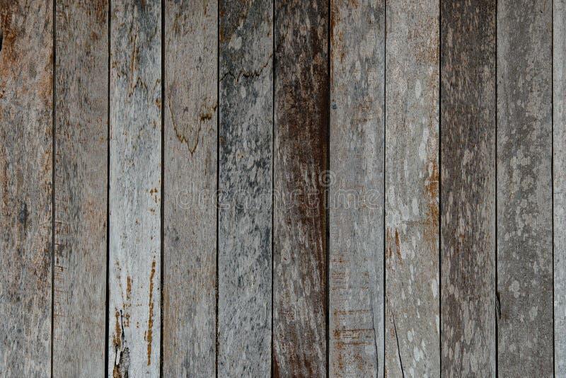 Stara drewniana tekstura tekowy drewno obrazy royalty free