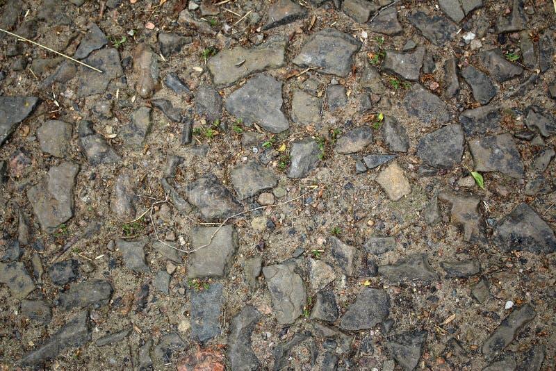 stara droga kamień zdjęcie stock