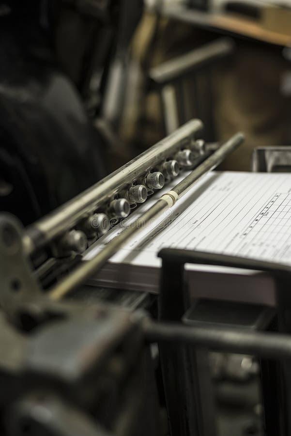 Download Stara Drukowa Maszyna Przy Pracą Zdjęcie Stock - Obraz złożonej z łatwość, przemysł: 57671526
