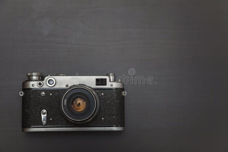 Stara ekranowa kamera zdjęcia stock