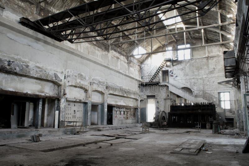 Stara fabryka zdjęcie royalty free