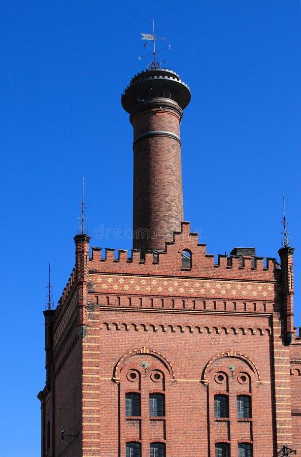 stara fabryka budynek. obrazy royalty free