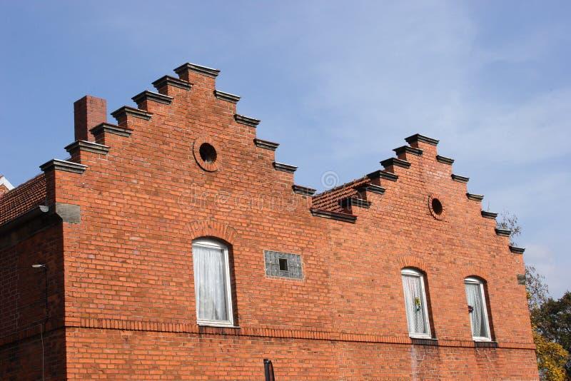 stara fabryka budynek. obraz royalty free