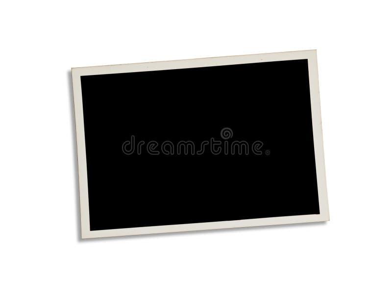 Stara fotografia odizolowywająca na bielu Ścinek ścieżka zawierać zdjęcia stock